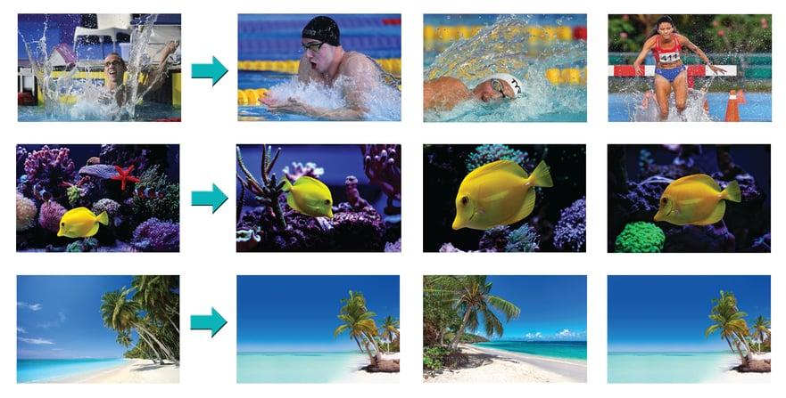 MerlinOne AI Image Similarity Graphic