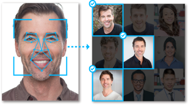 Merlin Compliance branded Facial Rec Graphic