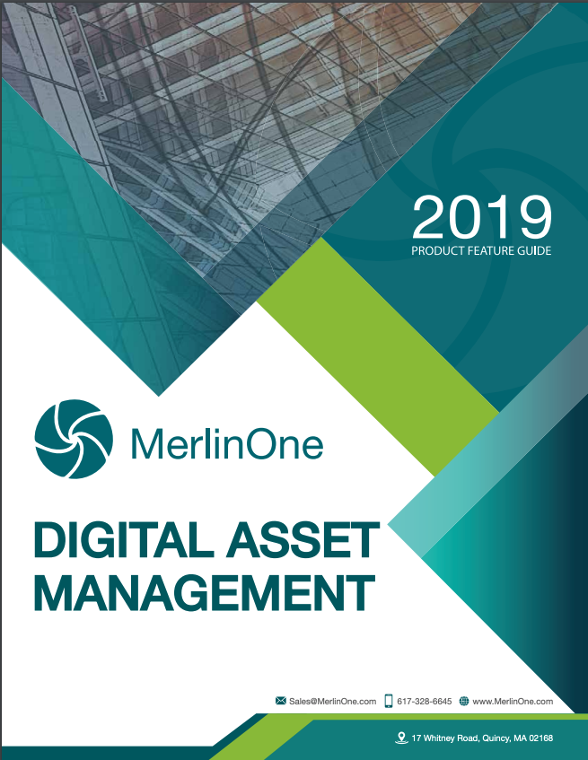 MerlinOne 2019 Digital Asset Management Product Guide