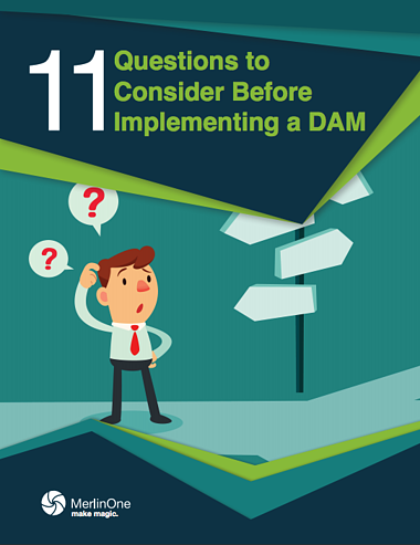 11 Questions to Consider before Implementing a DAM Ebook Cover