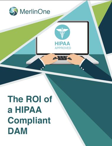 MerlinOne ROI of HIPAA Compliant DAM eBook
